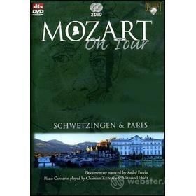 Mozart On Tour. Schwetzingen & Paris. Piano concerto (2 Dvd)