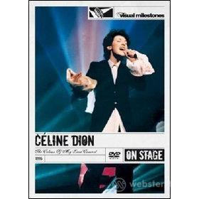Celine Dion. The Colour of My Love Concert