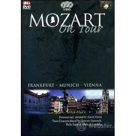 Mozart On Tour. Frankfurt, Munich, Vienna. Piano Concerto (3 Dvd)