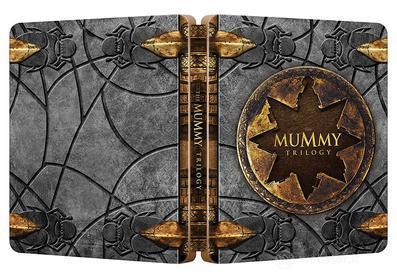 La Mummia - Trilogia (Ltd Steelbook) (3 Blu-Ray) (Blu-ray)