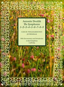 Antonin Dvorak. The Symphonies 1, 2 , 3, 4, 5, 6, 7, 8, 9 (5 Dvd)
