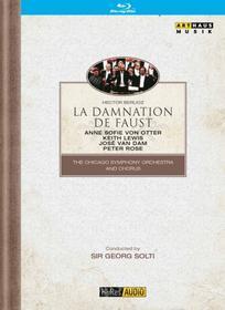 Hector Berlioz. La damnation de Faust. La dannazione di Faust (Blu-ray)