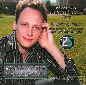 Johannes Brahms - Romain Descharmes Plays Brahms