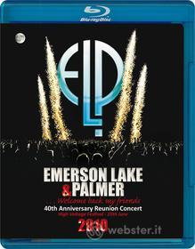 Emerson, Lake & Palmer. Welcome Back My Friends. 40th Anniversary Reunion Concer (Blu-ray)