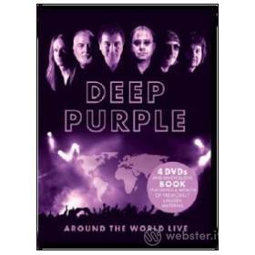 Deep Purple. Around The World. Live (4 Dvd)