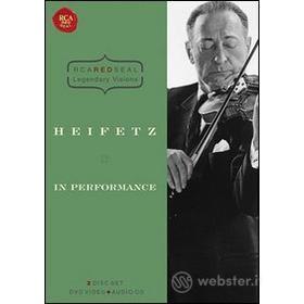 Jascha Heifetz. In Performance