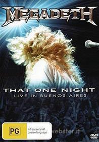 Megadeth - That One Night
