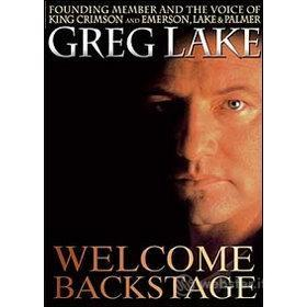 Greg Lake. Welcome Backstage
