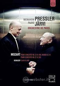 Menahem Pressler Paavo Järvi. Orchestre de Paris