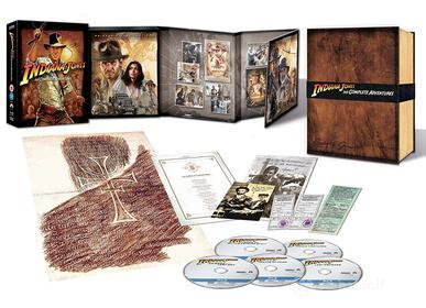 Indiana Jones - The Complete Adventure - Collector'S Edition (5 Blu-Ray) (Blu-ray)