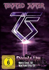 Twisted Sister - Double Live - North Stage 82 - New York Steel 01 (2 Dvd)