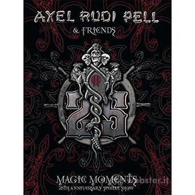 Alex Rudi Pell & Friends. Magic Moments. 25th Anniversary Special Show (3 Dvd)