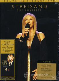 Barbra Streisand. The Concerts (3 Dvd)