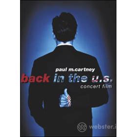 Paul McCartney. Back In The U.S. Concert Film