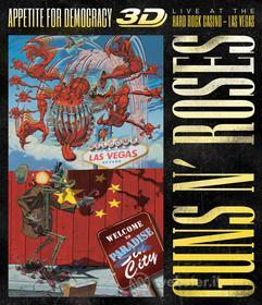 Guns N' Roses. Appetite For Democracy. Live At The Hard Rock Casino 3D (Blu-ray)