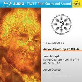 Auryn's Haydn Op. 77/103/42 (Blu-ray)