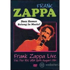 Frank Zappa. Does Humour Exist In Music