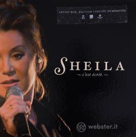 Sheila - C'Est Ecrit (Dvd+Cd) (Artist Numbered Box) (2 Dvd)