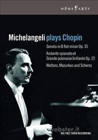 Arturo Benedetti Michelangeli. Michelangeli plays Chopin