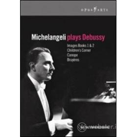 Arturo Benedetti Michelangeli. Michelangeli plays Debussy
