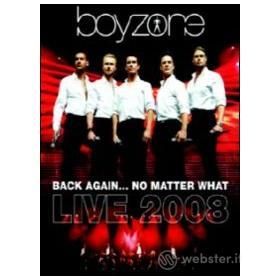 Boyzone. Back Again... No Matter What. Live 2008 (2 Dvd)