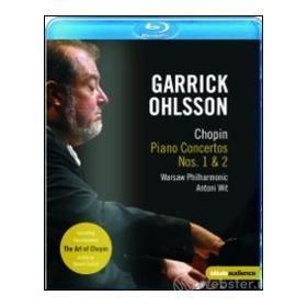 Garrick Ohlsson. Chopin. Piano Concertos Nos. 1 & 2 (Blu-ray)