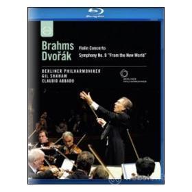 "Claudio Abbado. Brahms, Violin Concert. Dvorak, Symphony No. 9, ""From New World"" (Blu-ray)"