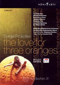 Sergei Prokofiev - L'Amore Delle Tre Melarance - Deneve/Rotterdam (2 Dvd)