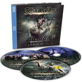 Luca Turil Rhapsody - Prometheus: The Dolby Atmos Ex (3 Blu-Ray) (Blu-ray)