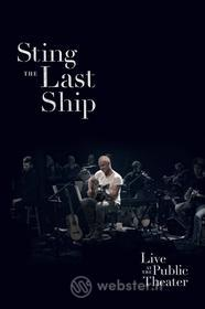 Sting. The Last Ship: Live at the Public Theater (Blu-ray)