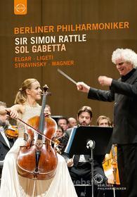 Berliner Philharmoniker. Sir Simon Rattle. Sol Gabetta