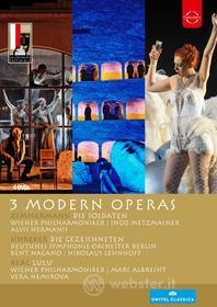 3 Modern Operas (Cofanetto 4 dvd)
