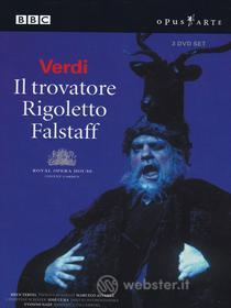 Giuseppe Verdi - Il Trovatore / Rigoletto / Falstaff (3 Dvd)