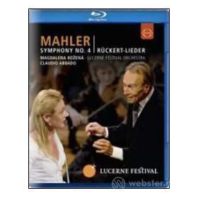 Gustav Mahler. Symphony No. 4 - Rückert Lieder (Blu-ray)