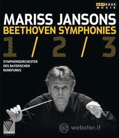 Mariss Jansons. Beethoven. Symphonies 1/2/3 (Blu-ray)