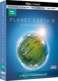 Planet Earth II (Blu-Ray 4K+Blu-Ray) (4 Blu-ray)