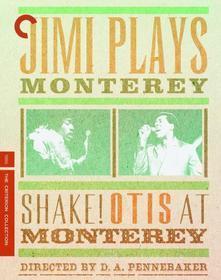 Jimi Hendrix / Otis Redding - Plays Monterey & Shake Otis At Monterey (Blu-ray)