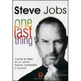 Steve Jobs. One Last Thing