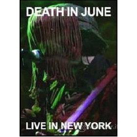 Death in June. Live in New York