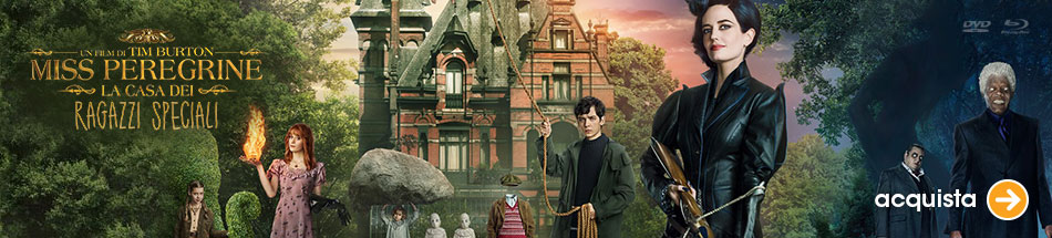 Miss Peregrine, il nuovo film di Tim Burton in dvd e blu-ray!
