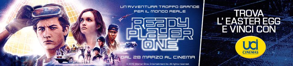 Vinci con UCI Cinemas e Ready Player One