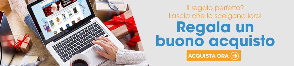 Non hai ancora  finito i regali di Natale? Invia un Buono Acquisto!