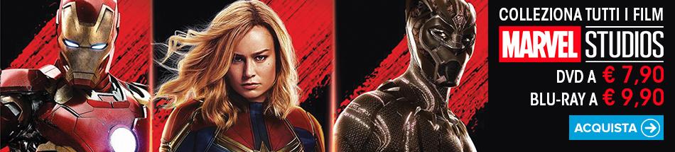 Tutti gli eroi Marvel in dvd e blu-ray in promozione a partire da 7,90 euro!
